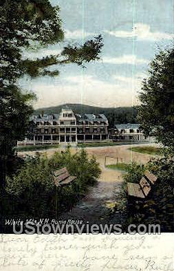 Flume House - White Mountains, New Hampshire NH Postcard