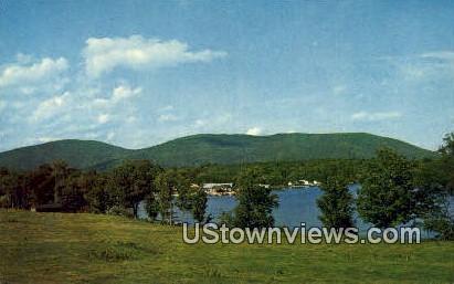 Lake Winnepesaukee - Center Harbor, New Hampshire NH Postcard