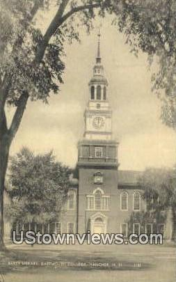 Baker Library, Dartmouth College - Hanover, New Hampshire NH Postcard