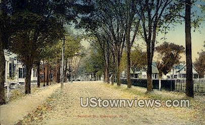Summer St - Claremont, New Hampshire NH Postcard