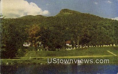 Indian Head, Shadow Lake - White Mountains, New Hampshire NH Postcard