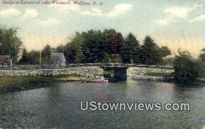 Lake Wentworth - Wolfeboro, New Hampshire NH Postcard