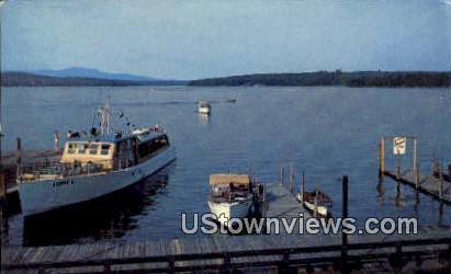 Mail Boat - Lake Winnipesaukee, New Hampshire NH Postcard