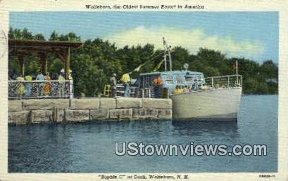 Sophe C - Wolfeboro, New Hampshire NH Postcard