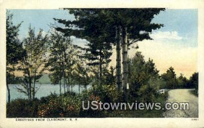 Claremont, NH    ;      Claremont, New Hampshire Postcard