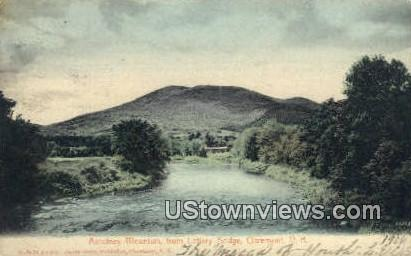 Asculney Mountain - Claremont, New Hampshire NH Postcard