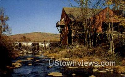 Old Red Mill - Misc, New Hampshire NH Postcard