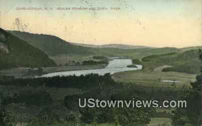 Beaver Meadow, Conn River - Charlestown, New Hampshire NH Postcard
