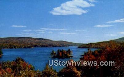 Emerald Isle - Burkehaven, New Hampshire NH Postcard