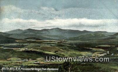 Presidential Range - White Mountains, New Hampshire NH Postcard