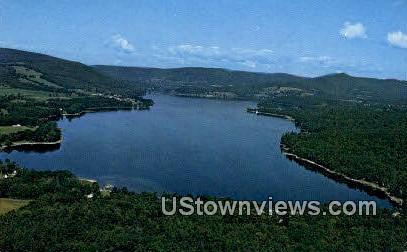 Mascoma Lake - Enfield, New Hampshire NH Postcard