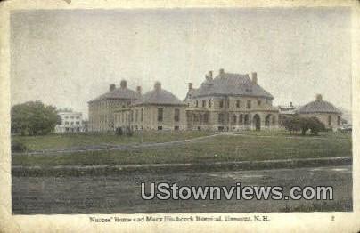 Nurses' Home & Mary Hitchock Hospital - Hanover, New Hampshire NH Postcard