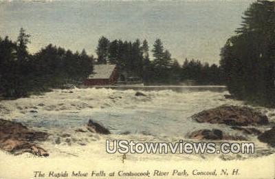 Contoocook River Park - Concord, New Hampshire NH Postcard