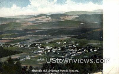 Bethlehem, Mt Aagassiz - White Mountains, New Hampshire NH Postcard