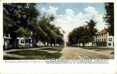 Bethlehem Street, Turner House - White Mountains, New Hampshire NH Postcard