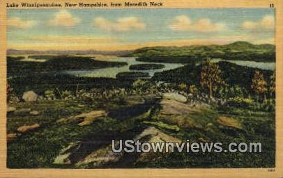 Meredith Neck - Lake Winnipesaukee, New Hampshire NH Postcard