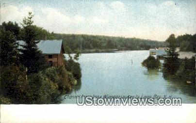 Long Bay - Lake Winnipesaukee, New Hampshire NH Postcard