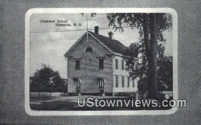 Grammar School - Hampton, New Hampshire NH Postcard