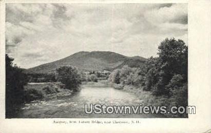 Ascutney, Lottery Bridge - Claremont, New Hampshire NH Postcard