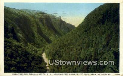 Pulpit Rock - Dixville Notch, New Hampshire NH Postcard