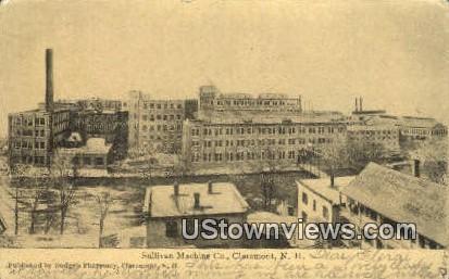 Sullivan Machine Co - Claremont, New Hampshire NH Postcard
