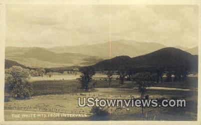 Real Photo - Intervale - White Mountains, New Hampshire NH Postcard