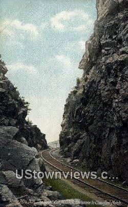 Great Cut MCRR, Crawford Notch - White Mountains, New Hampshire NH Postcard