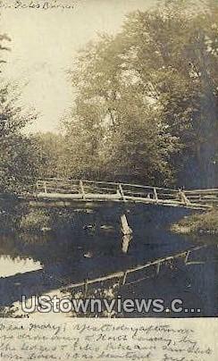 Real Photo - Mr. Gales Bridge - Misc, New Hampshire NH Postcard