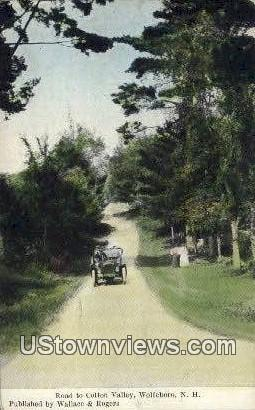 Cotton Valley - Wolfeboro, New Hampshire NH Postcard