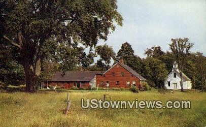 Old Colonial Home - Misc, New Hampshire NH Postcard