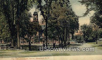Park, Opera House - Claremont, New Hampshire NH Postcard