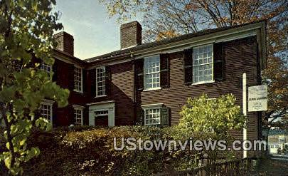 Garrison House - Exeter, New Hampshire NH Postcard