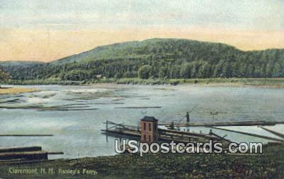 Ashley's Ferry - Claremont, New Hampshire NH Postcard