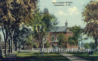 Opera House 7 Park - Claremont, New Hampshire NH Postcard