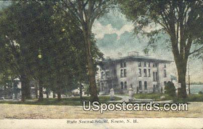 State Normal School - Keene, New Hampshire NH Postcard