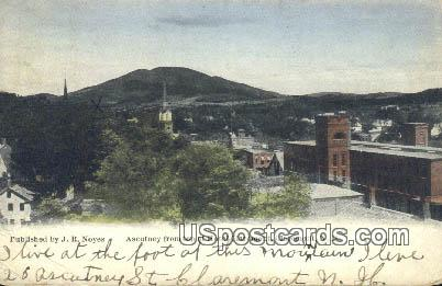 Ascutney, Hotel Claremont - New Hampshire NH Postcard
