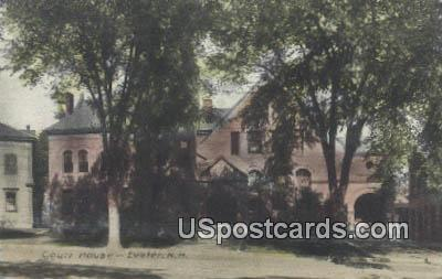 Court House - Exeter, New Hampshire NH Postcard