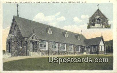 Church of the Nativity of Our Lord - White Mountains, New Hampshire NH Postcard