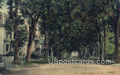 Court Scene - Keene, New Hampshire NH Postcard