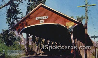 Mechanic Street - Lancaster, New Hampshire NH Postcard