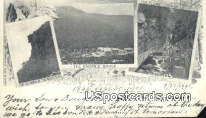 Profile House - White Mountains, New Hampshire NH Postcard