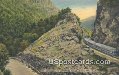 Crawford Notch - White Mountains, New Hampshire NH Postcard