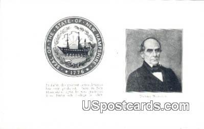 Daniel Webster - Misc, New Hampshire NH Postcard