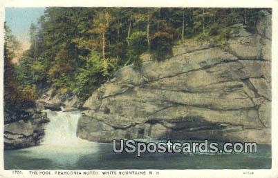The Pool, Franconia Notch - White Mountains, New Hampshire NH Postcard