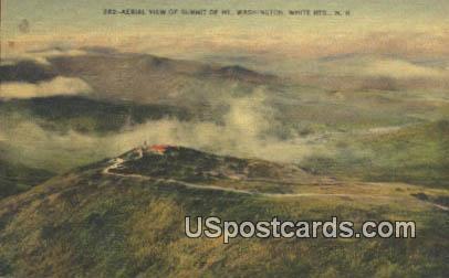 Mt Washington - White Mountains, New Hampshire NH Postcard