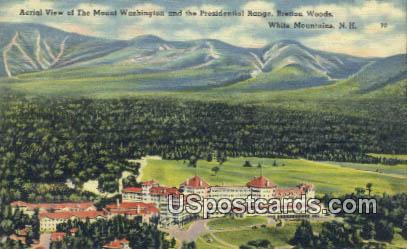 Mount Washington, Presidential Range - White Mountains, New Hampshire NH Postcard
