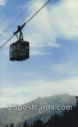 Tram Car, Cannon Mountain - White Mountains, New Hampshire NH Postcard