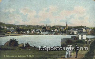Lakeport, New Hampshire Postcard      ;      Lakeport, NH