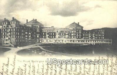 Mount Washington - White Mountains, New Hampshire NH Postcard