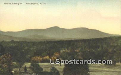 Mount Cardigan - Alexandria, New Hampshire NH Postcard